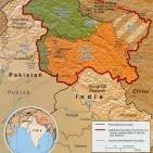 Kashmir Map by CIA being used via Wikimedia Commons