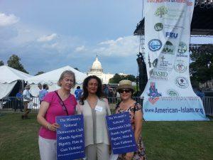 Participants representing Woman's National Democratic Club