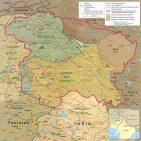 Kashmir region 2004 Photo: By CIA [Public domain], via Wikimedia Commons