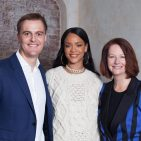 Photo: As release by Global Partnership for Education and Rihanna on her Facebook Page