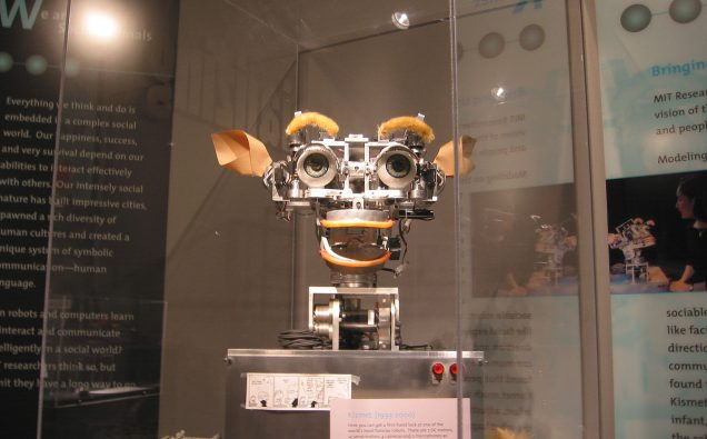 Photo: By Polimerek in MIT Museum during Wikimania 2006, with permission of authorities of Museum.