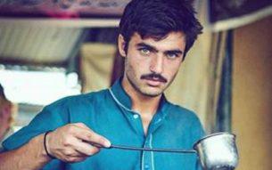 Arshad Khan, the famous chai wala Photo Credit: Courtesy Javeria Ali  Jiah's Photography
