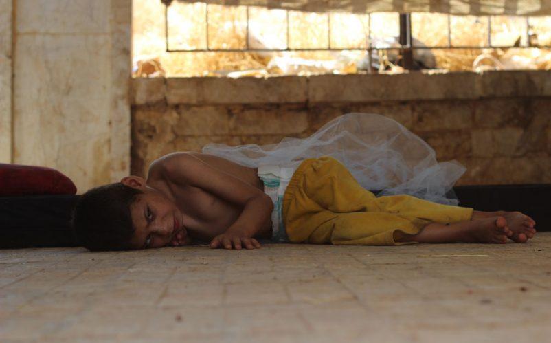 A Syrian child  Photo: UNICEF/Khuder Al-Issa