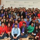 Pakistan embassy welcomed a group of 94 students at the start of Global Under Graduate Program Photo: Pakistan Embassy