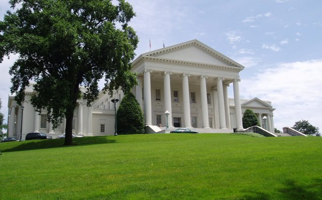 Virginia State Capitol By Anderskev (Own work) [CC BY 3.0 (http://creativecommons.org/licenses/by/3.0)], via Wikimedia Commons