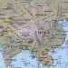 A map showing China-India geography Photo Credit: CIA Factbook
