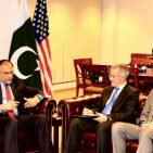 Pakistani Minister for Planning and Development with US officials February 2, 2017  Photo : Courtesy Pakistan Embassy in Washington D.C.