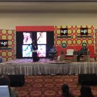 British author William Dalrymple discussing Kohi Noor.  Photo:Courtesy  Lahore Literary Festival
