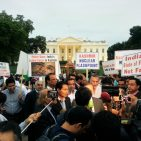 Kashmiris hold candlelight vigil outside White House to demand freedom from Indian occupation Photo Views and News