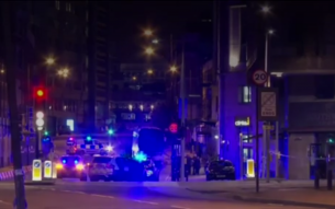 Police and Emergency Services responding to attack in London, June 3, 2017 Photo: Screenshot/BBC