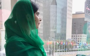 Malala Yousafzai  Photo: Courtesy Malala Twitter Account