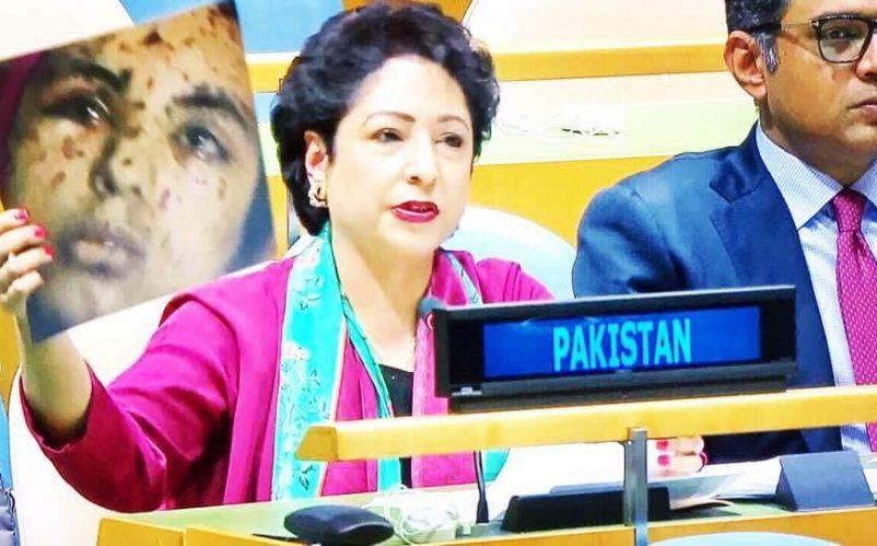 Pakistan's Permanent Representative to the UN Maleeha Lodhi, September 23, 2017 Photo: Pakistan Mission to the UN