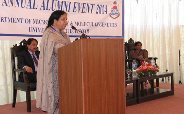 Prof. Shahida Hasnain,  Photo: Punjab University