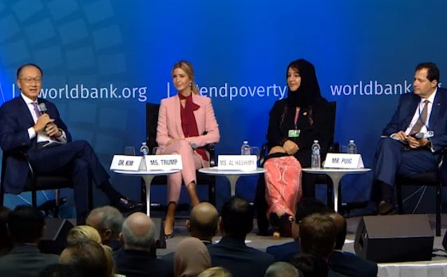 We-Fi launch at World Bank October 12, 2017 Photo: Screenshot/WB video