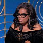 Oprah Winfrey at 2018 Golden Globes Photo: Screenshot/NBC