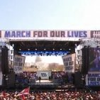 March for Our Lives in Washington D.C. March 24, 2018 Photo: Screenshot/ABC News