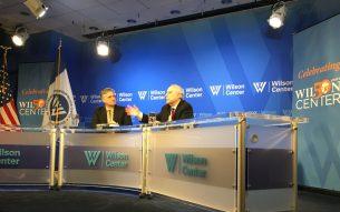Dr Akbar Ahmed at Woodrow Wilson Center in Washington D.C. March 7, 2018 Photo: Dr. Akbar Ahmed