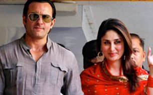 Kapoor and Saif Ali Khan at their registry marriage ceremony Bollywood Hungama [CC BY 3.0 (https://creativecommons.org/licenses/by/3.0)], via Wikimedia Commonsin 2012.  Photo: